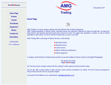 Tablet Preview of amgtrading.co.uk
